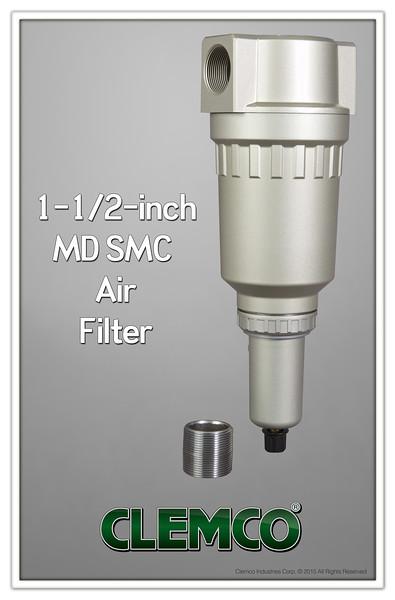 "1.5"" MD SMC Air Filter"