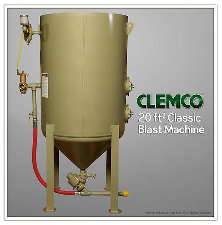 20ft³ Classic Blast Machine