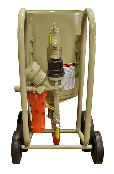 6ft³ Contractor Blast Machine with CPF