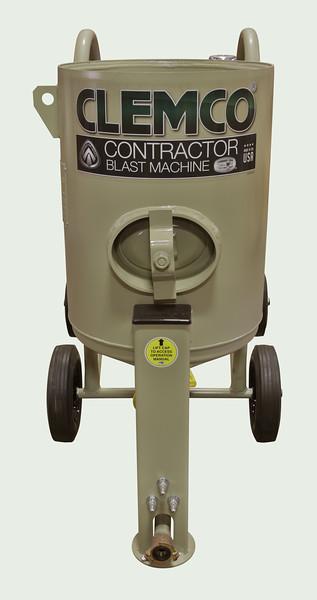 4ft³ Contractor Blast Machine Pressure Hold