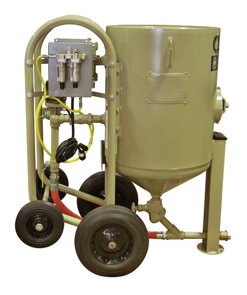 6ft³ Contractor Blast Machine 120 volt
