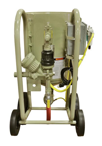 6ft³ Contractor Blast Machine 12 volt ACS