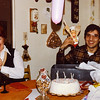 Mui's Birthday at the Haggarties<br /> (with Patty)<br /> 15 January 1982