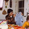 Mui's Birthday at the Haggarties<br /> (with Michael)<br /> 15 January 1982