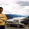 Move from Washington to Utah<br /> Columbia River Gorge from Crown State Park<br /> March 1983
