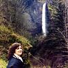 Move from Washington to Utah<br /> Latourell Falls - Columbia River Gorge, Oregon<br /> March 1983