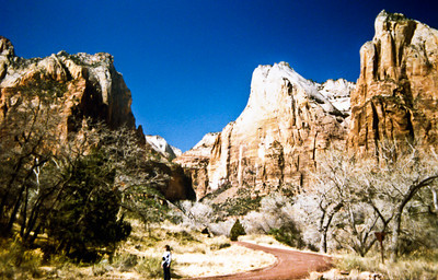 Trip to Glen Canyon National Recreation Area Zion National Park, Utah 11 March 1984