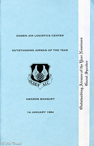 Outstanding Airman of the Year Awards Banquet 14 January 1984