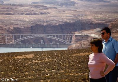 Trip to Glen Canyon National Recreation Area Glen Canyon Dam 10-14 March 1984