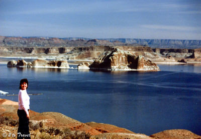 Trip to Glen Canyon National Recreation Area Lake Powell 10-14 March 1984
