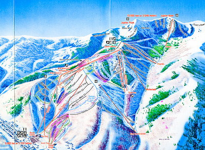 Skiing in Park City 23 February 1984