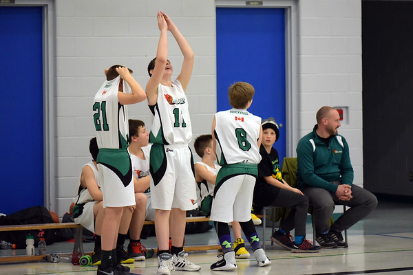 Blazers vs GCBA Selects Feb 25