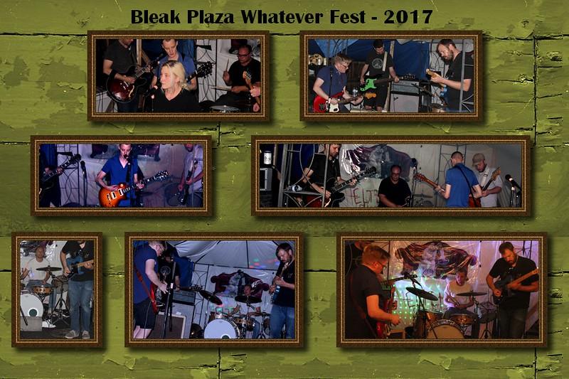 Bleak Plaza & Kissing Party