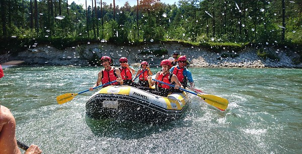 Bled Rafting - River Sava