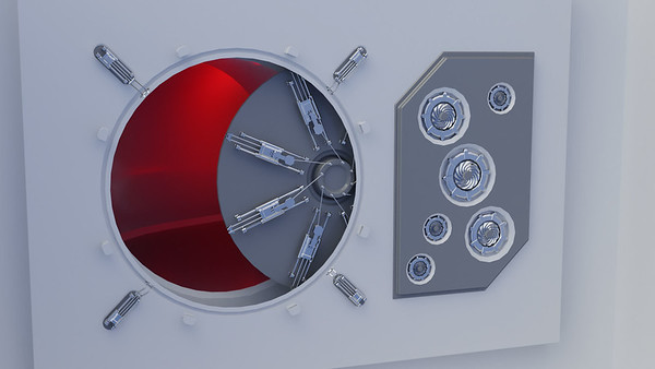 20180423 - Sci-Fi Hatch (Animation)