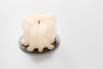 20180929 - Sculpted Candle