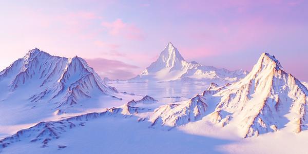 20190320 - Pixel Mountains