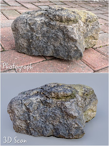 20180403 - Photoscanned Rock