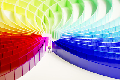 20180328 - Rainbow Maze