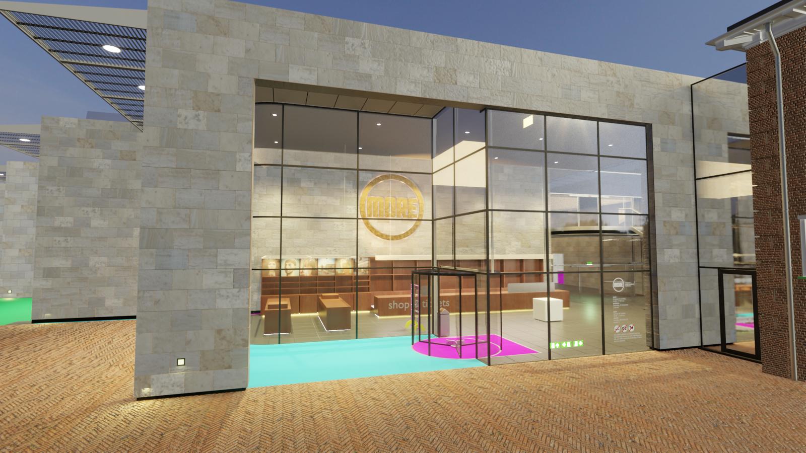 Museum MORE in Blender