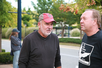 Jack McHale of Pax Christi with Art Laffin of the D.C. Catholic Workers.