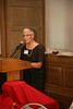 Pax Christi International Co-President Marie Dennis introducing Bishop Kevin Dowling