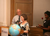 Catherine Crosby introducing Ruben Garcia the 2012 Teacher of Peace Award, Director of Annunciation House, El Paso, Tx.