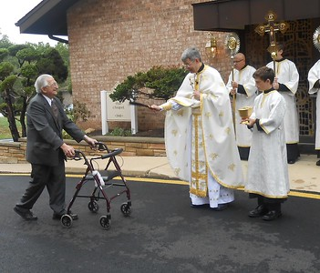 2012 - Blessing of the Cars
