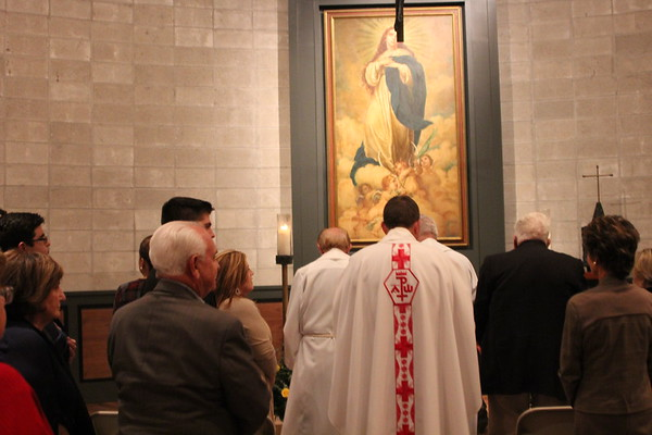 Blessing of the Chapel of Our Lady