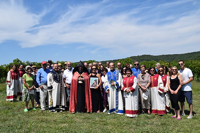 Annual Vineyard Blessing  2017