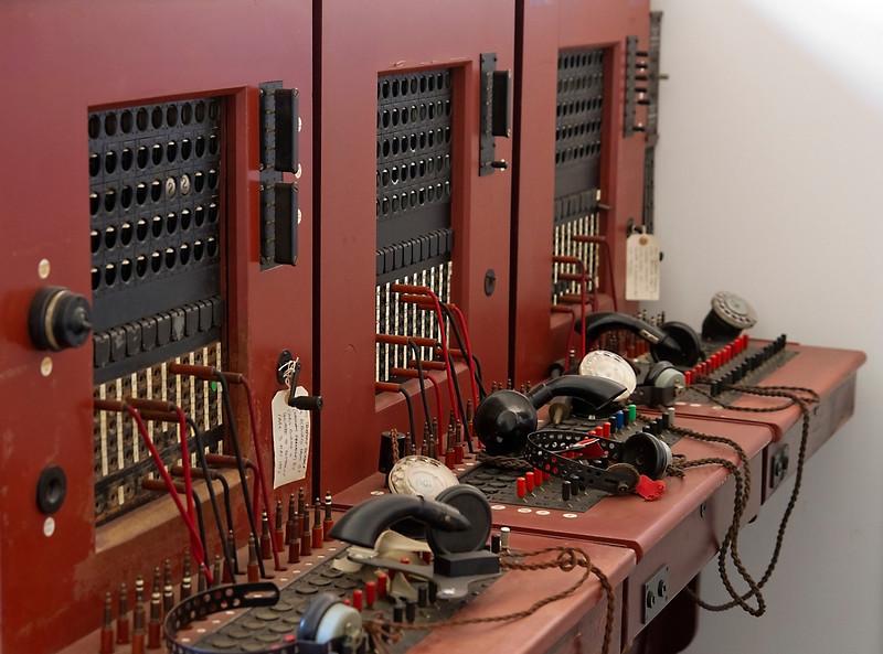 Hut 8 radio room