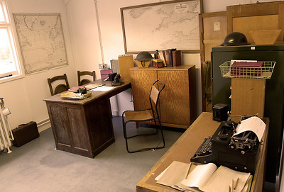 Turing's office Hut 8