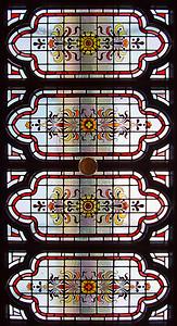 Ceiling lantern detail