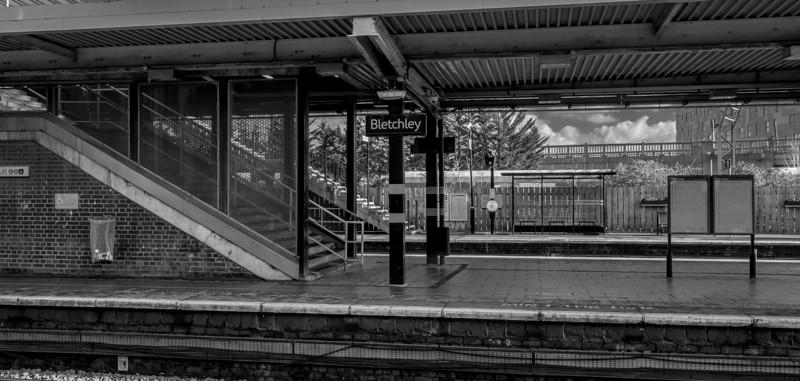 Platform, Bletchley Railway Station