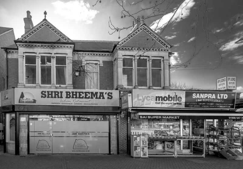 Shops, Bletchley