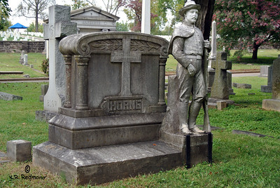 The Horne Brothers Monument, Old Gray Cemetery