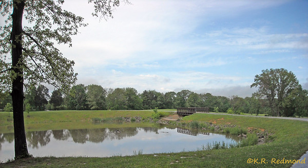 The Lake at Victor Ashe Park