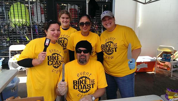 2014 Bike the Coast BSC Sag