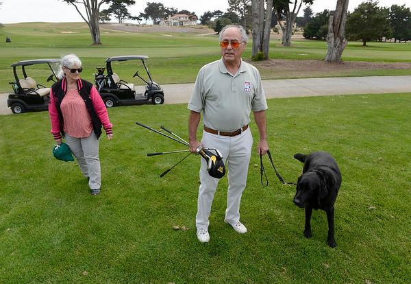 Blind golfer Carlos Franco - 080818
