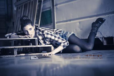 Emerge  Photos & Design  by Blinkit Photography Designer: Jenny Han Makeup / Hair: Juliet Bourgeois Model: Bree Knapp