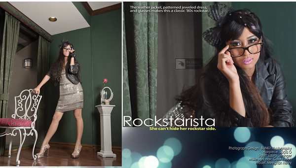 Rockstaria - She can't hide her rockstar side