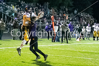 District # 3 Zack Horky will a spetacular TD catch against Onsted