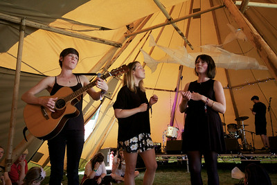 The Cadbury Sisters @ Blissfields 2014