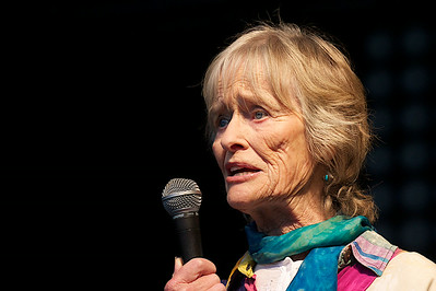 Virginia McKenna @ Blissfields 2014
