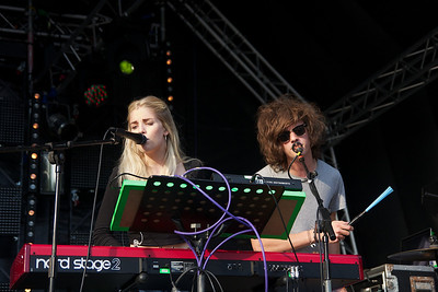London Grammar @ Blissfields 2013