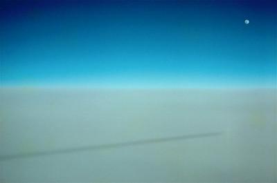 7  Moon over cloud