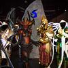 Tyrael Marine, Diablo, Imperius, and Auriel