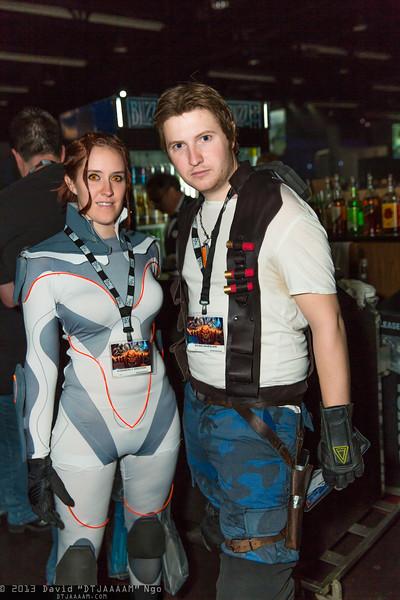 Sarah Kerrigan and Jim Raynor