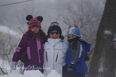 Samantha, Michelle and Jake Murray