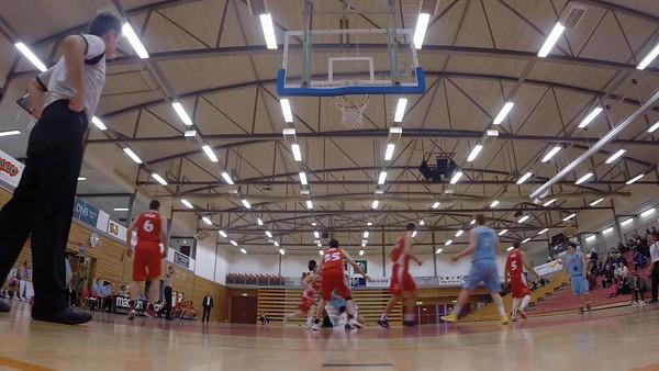 Video Bærum Basket - Gimle Basket 8 mars 2014